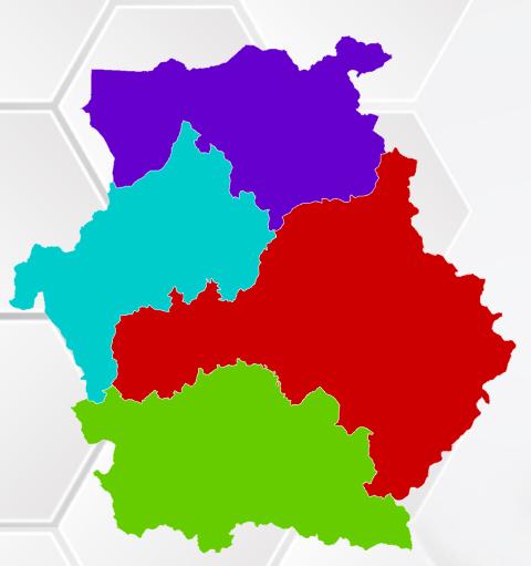 Χάρτης Περιφέρειας Δυτικής Μακεδονίας