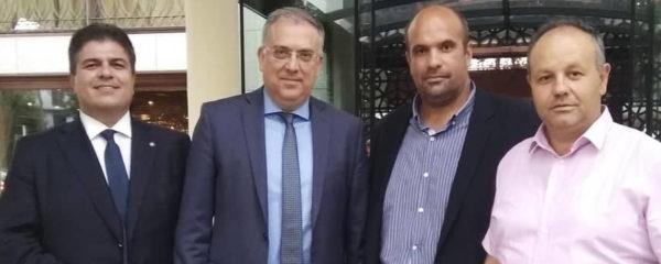 Ο κ. Γιάτσιος και ο κ. Χατζηζήσης συναντήθηκαν ε υπουργούς της κυβέρνησης