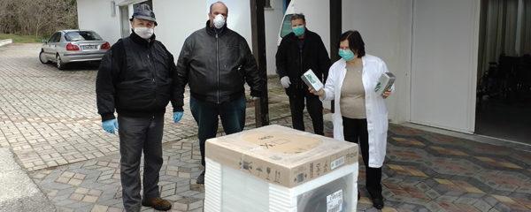 Παράδοση εξοπλισμού στο Κέντρο Υγείας Δεσκάτης