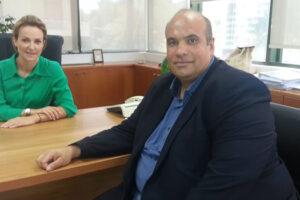 Συνάντηση Αντιπεριφερειάρχη με τη Γενική Γραμματέα Ενέργειας και Ορυκτών Πρώτων Υλών