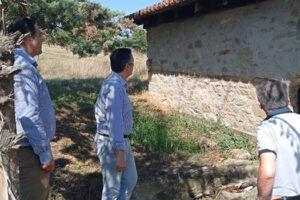 Επίσκεψη στην περιοχή του Βεντζίου