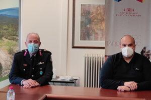 Επίσκεψη Περιφερειακού Αστυνομικού Διευθυντή Δυτικής Μακεδονίας στον Αντιπεριφερειάρχη