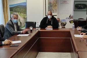 Συνάντηση συνεργασίας Περιφέρειας Δυτικής Μακεδονίας με ΣΕΓΑΣ