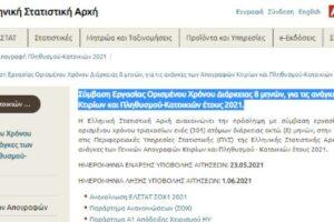 Προκήρυξη ΣΟΧ1_2021_Ελληνική Στατιστική Αρχή