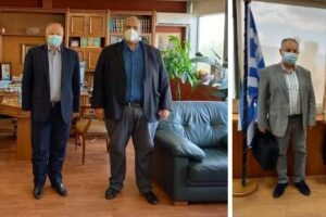 Συνάντηση Αντιπεριφερειάρχη ΠΕ Γρεβενών κ. Γιάτσιου και του Περιφερειακού Συμβούλου κ. Χατζηζήση με κυβερνητικά και υπηρεσιακά στελέχη