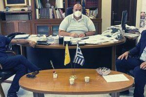 Τα Γρεβενά επισκέφθηκε ο Αντιπεριφερειάρχης της Π.Ε. Τρικάλων